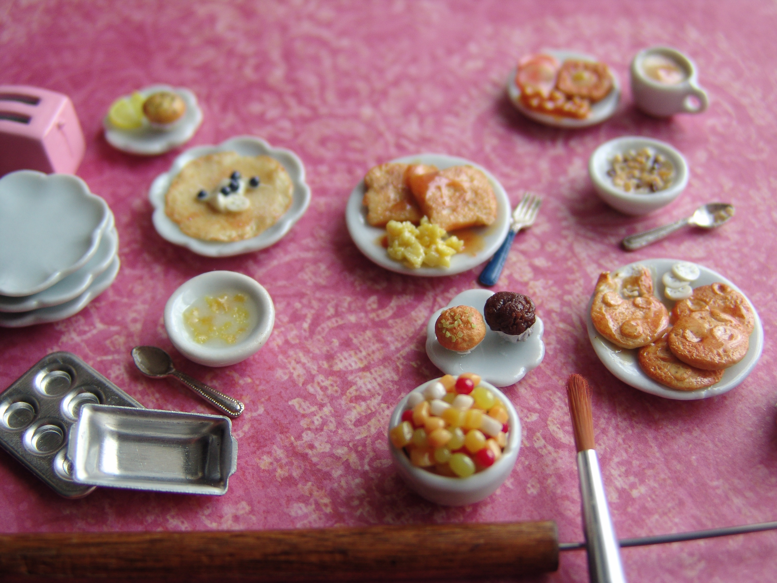Realistic polymer clay food the image for Polymere cuisine
