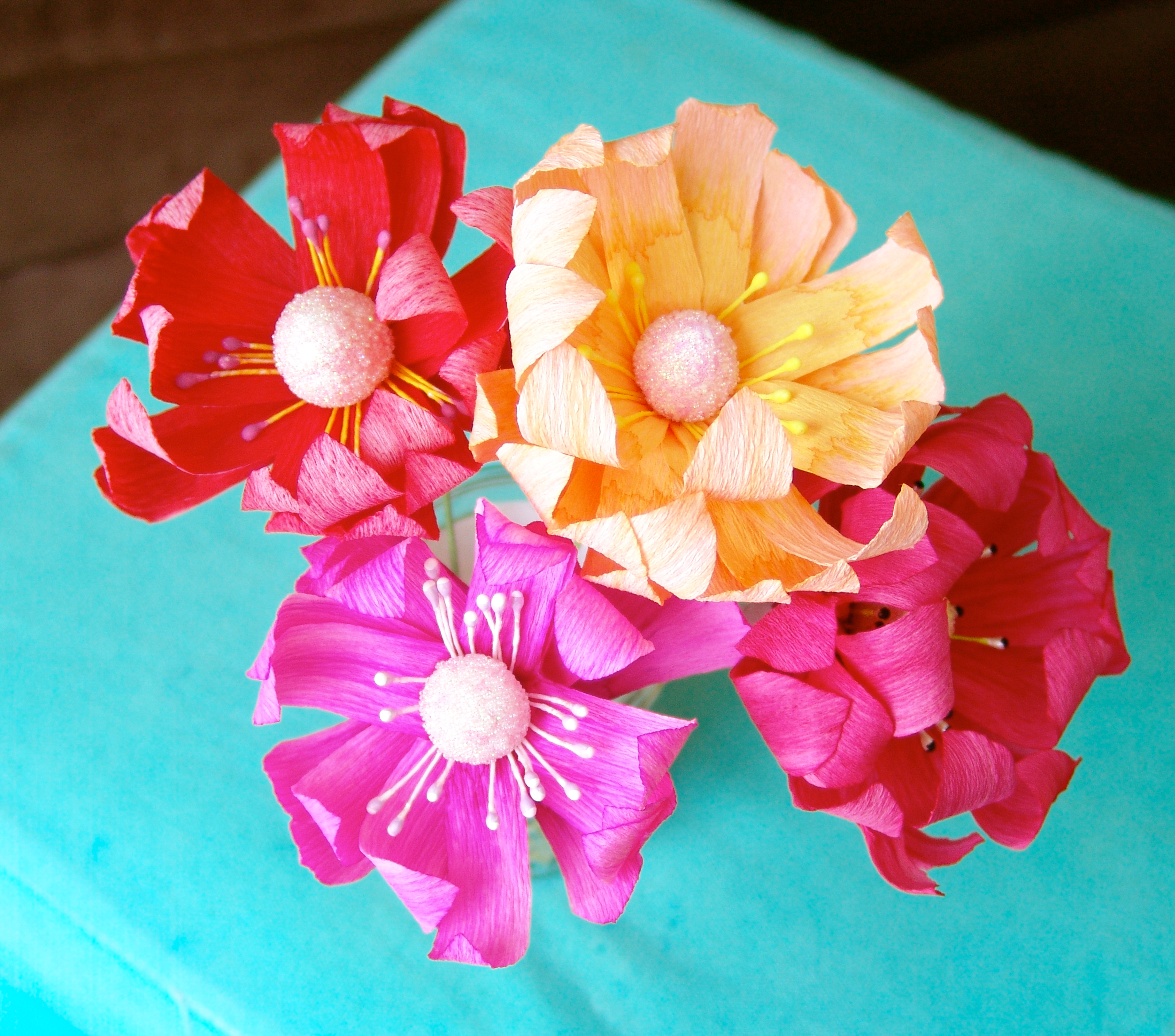 DIY Crepe Paper Flowers My New Addiction