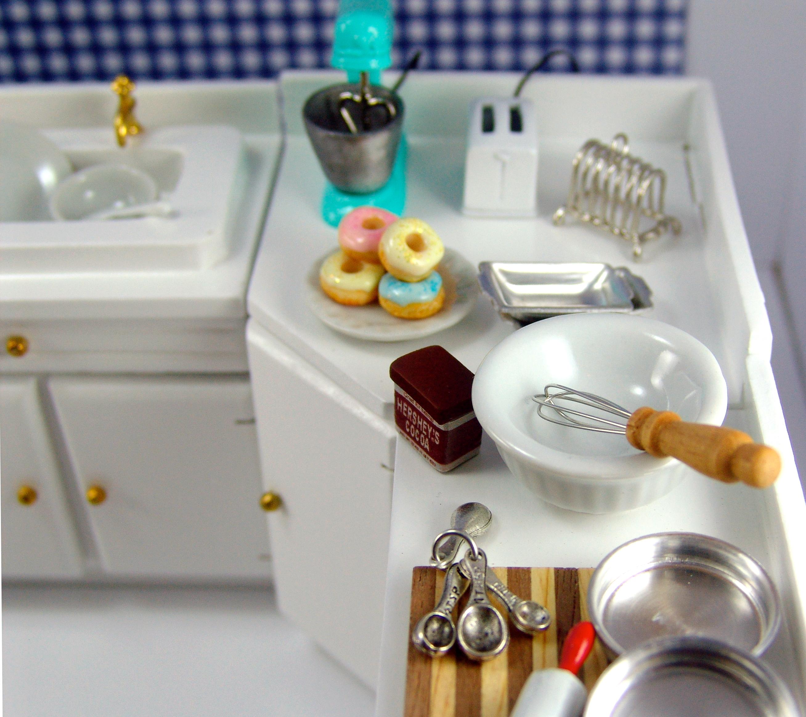 Dollhouse Miniature Kitchen Furniture  The Mouse Market Blog