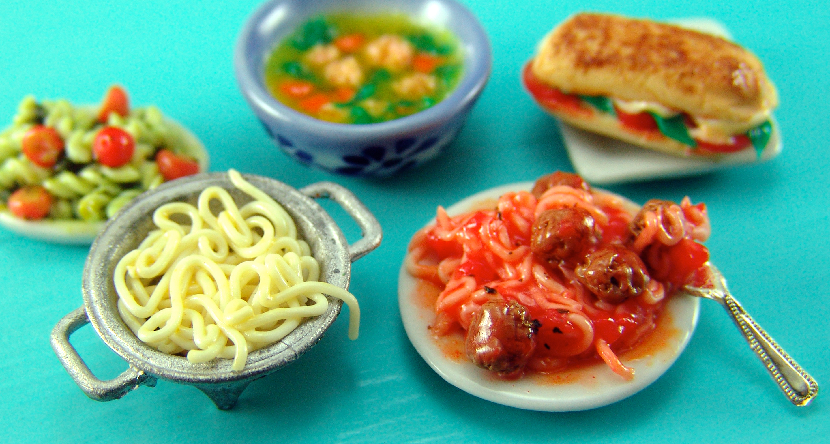 Italian food project wedding