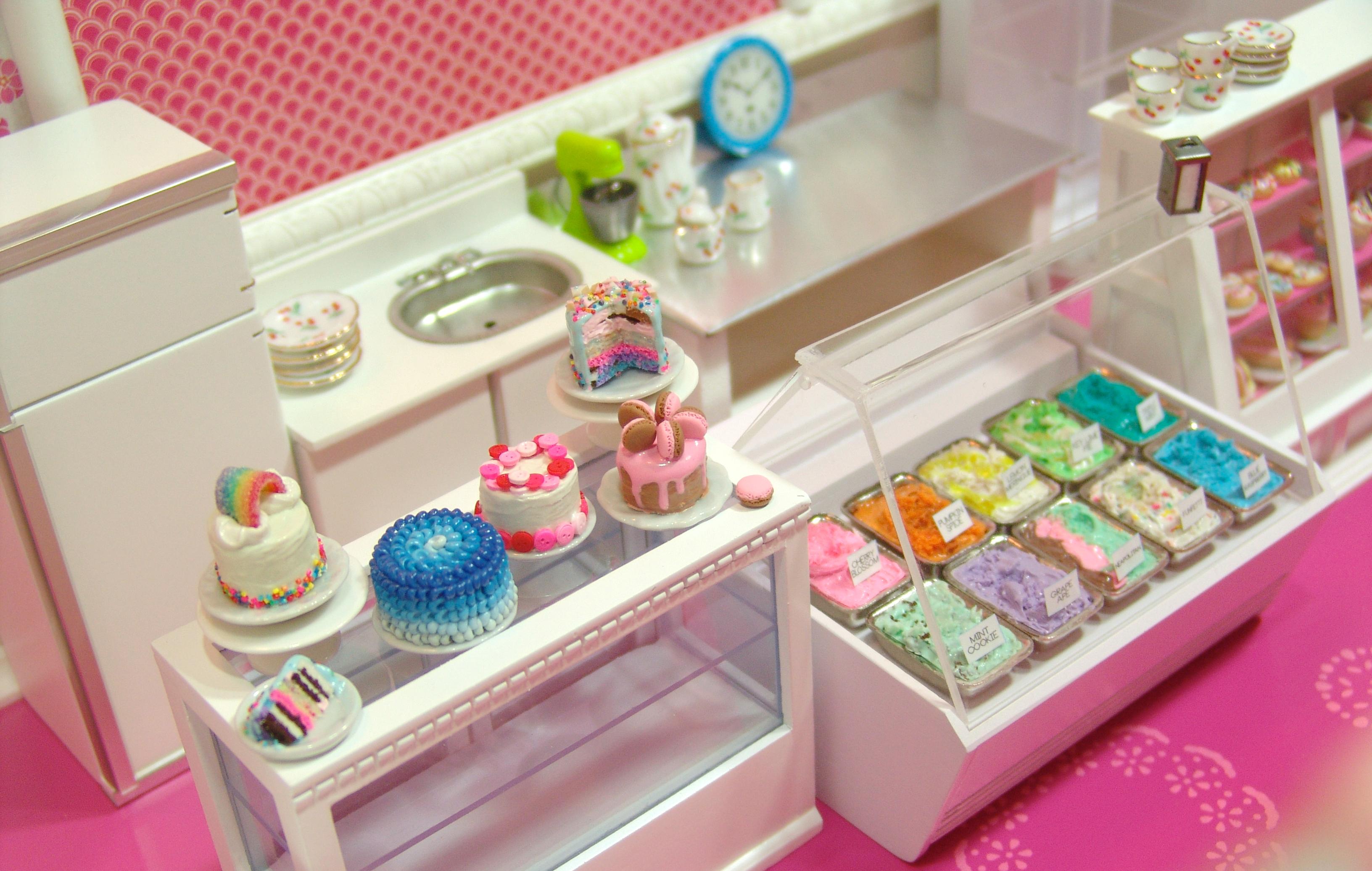 Dollhouse Cake The Mouse Market Blog
